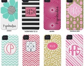 iPhone 4 Case & iPhone 5  Monogrammed and Designed by conniption Prints- Choose your design