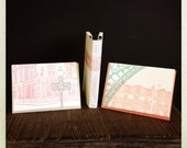 Paris letterpress card and journal bundle