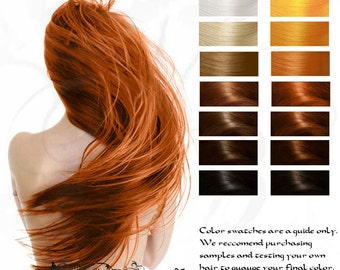 Bright Copper Fire Genasi Herbal Hair Color and Conditioner 10G Sample