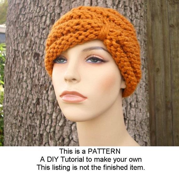 Instant Download Knitting Pattern Knit Hat Knitting Pattern