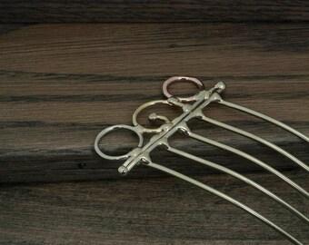 Hair fork or hair comb hair accessory
