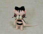 Tiny Gothy Cupcake Kitty MADE-TO-ORDER