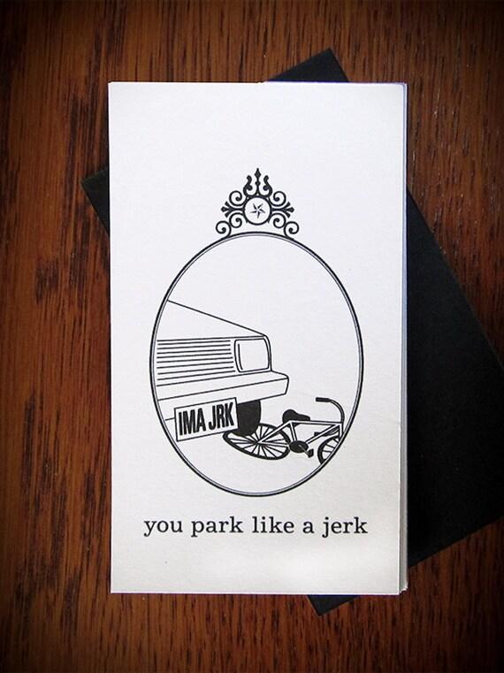 You Park like a Jerk 12 pack