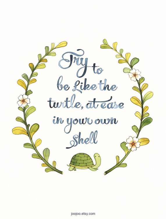 inner beauty quotes turtle
