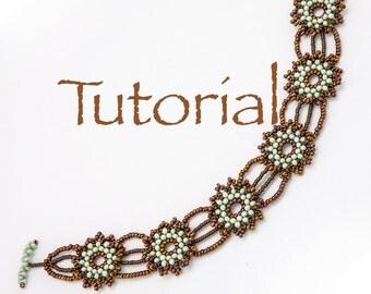 Beadwoven Bracelet Tutorial A Pocketful of Posies Digital Download