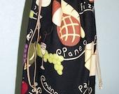 Mangia Wine Bottle Bag - umsteuerbar - wiederverwendbar - Drawstring