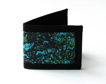 Vegan Friendly Billfold Wallet - Mullein // Photo Fabric Collection