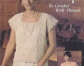 Leisure Arts 2015 - Lovely Lace Tops to Crochet with Thread (1990)
