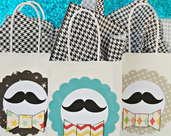 The Vintage Comedy Collection - Fantastic Favor Bags SET of SIX by Mary Had a Little Party