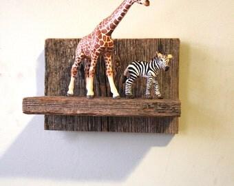 Small Barn lumber Shelf