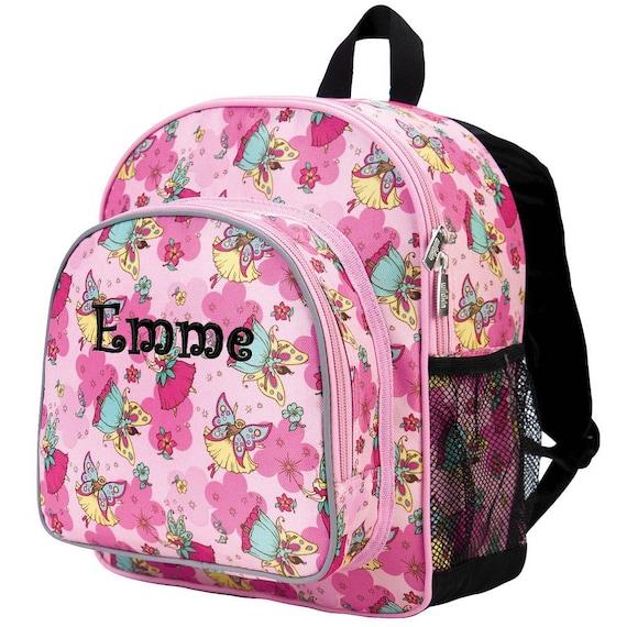 personalized preschool backpacks kids personalized backpack fairies monogrammed children 352
