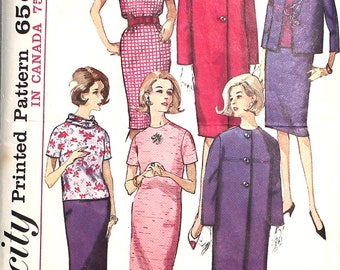 1960s Skirt Suit with Jacket  Bust 34