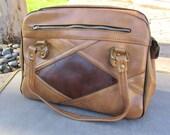 """1960s Brown """"Grandma"""" Bag"""