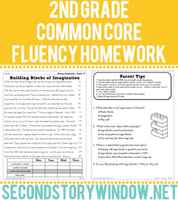 Homework help for 2nd grade