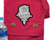 Kushiels Dart Phedre Print Messenger Bag - Field Style