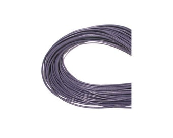 1.5mm Purple Greek Leather Round Cord 42324 (5 meters), Amethyst Leather Cording, Necklace Cord, Bracelet Cord, 1.5mm Cording, 1.5mm Leather