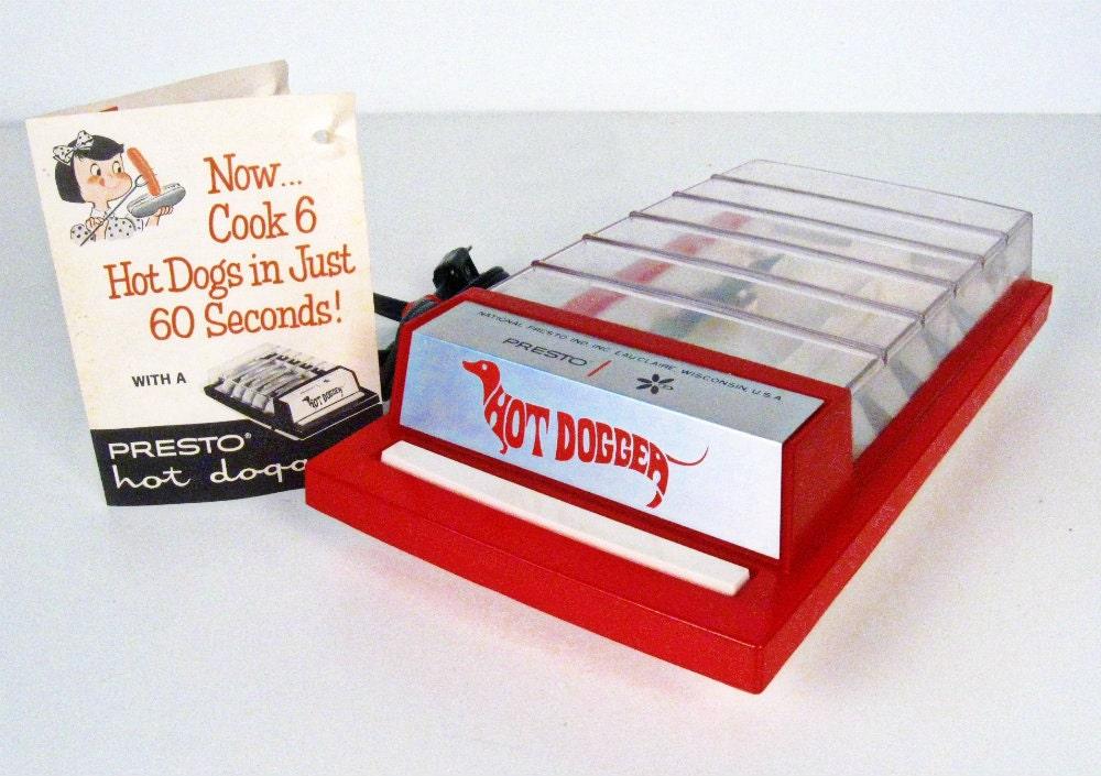 vintage Presto Hot Dogger hot dog cooker