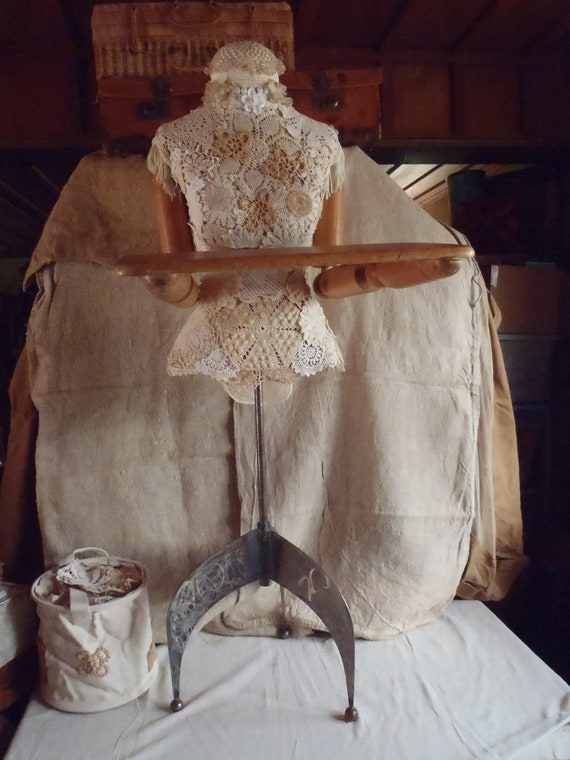 Vintage Repurposed Mannequin Dress Form Disney