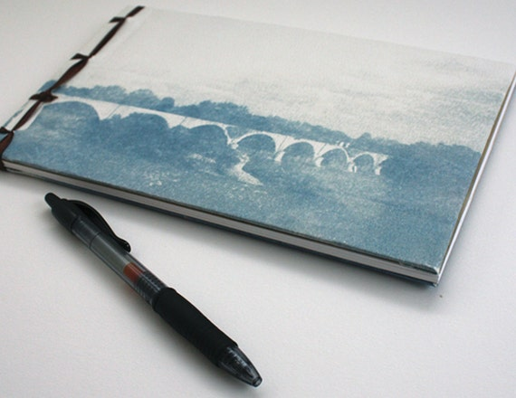 Cyanotype Landscapes Hardcover Journal