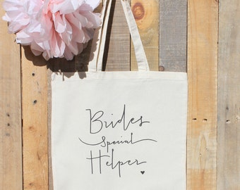 Wedding Coordinator Bride Helper Gift Tote Bag