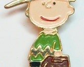 SALE -- United Features Charlie Brown Pin