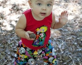 ON SALE New Day of the Dead Tank Shirt 6m, 12m 18m