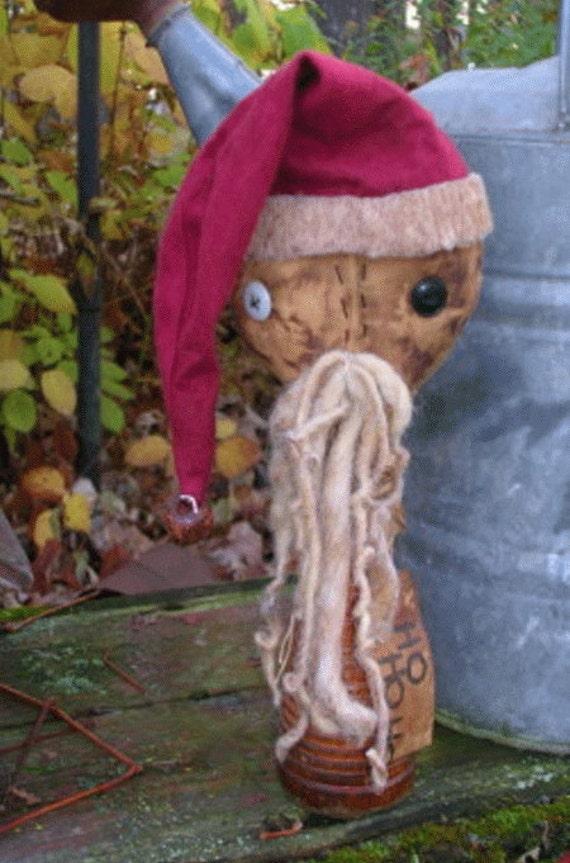 Skates For Sale >> Sale Primitive Santa Doll Pattern Folk Art Santa Make Do
