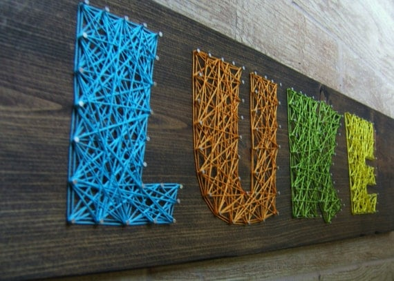 string art letters modern string wooden tablet 4 letters 13736 | il 570xN.472784040 67aq