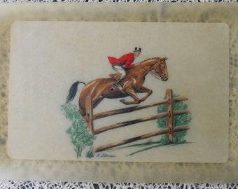 Bacova Guild Horse Tray / Equestrian Serving Tray / Bacova Guild English Riding Serving Tray / Grace Gilmore / Bacova Guild