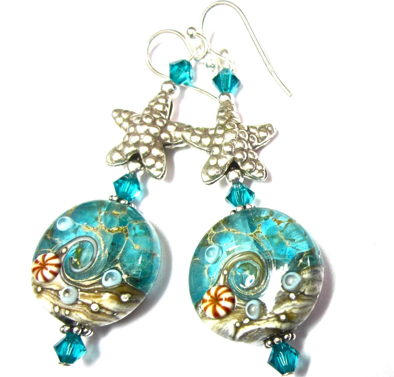 Turquoise Ocean Earrings Glass Earrings Lampwork Earrings. Celebrity Earrings. Tory Burch Earrings. Round Shaped Gold Earrings. Diva Earrings. Girl With Pearl Earring Earrings. Triangular Earrings. Western India Wear Earrings. Stylish Fashion Earrings