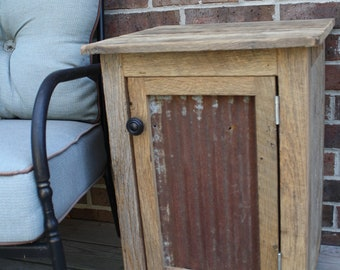 YOUR Custom Rustic Barn Wood End Table, Night Stand, or Side Table with Free Shipping-CRBWST210F