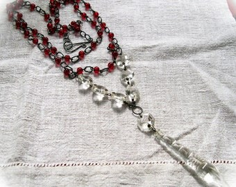 Chandelier Crystal Necklace