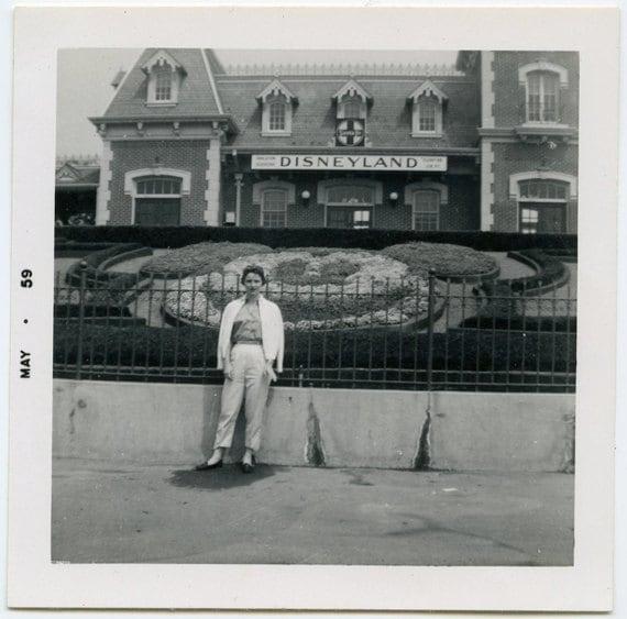 Disneyland Vacation Snapshot from 1959