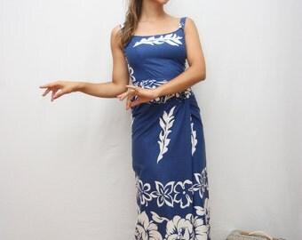 50's hawaiian dress