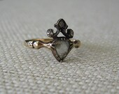 1700s Georgian Diamond Heart Engagement Ring