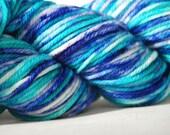 RESERVED FOR SUZIE - Kettle-dyed Superwash Merino Yarn in Parvaneh