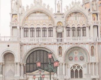 Venice Photography - Piazza San Marco, Venice, Italy Travel Photograph, Wall Decor