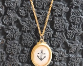 Anchor Cameo (18x13)