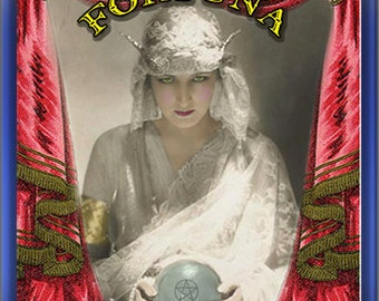 Fortuna the Fortune Teller Gothic Carnival Perfume Oil from the KrAzY KarNivaLe Freak Show Collection