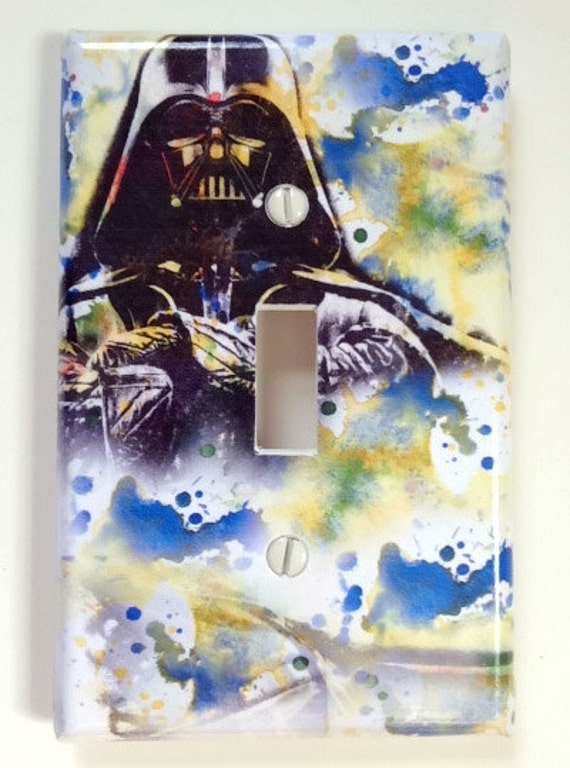 Darth Vader Star Wars Art Decorative Light Switch Plate Cover