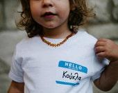 Koukla Greek Baby Kids T shirt-gift