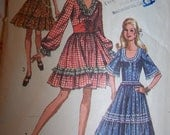 Womens Sewing Pattern - Dress Rockabilly Lolita Square Dance- Buy 2 Get 1 FREE Sale