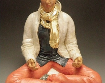 Custom Portrait Figure Sculpture Art Figurine Full Body Statue, Made to Order