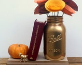 Autumn Inspired Centerpiece, Large Paper Flowers in Tangerine, Pumpkin, Crimson, Marigold, and Copper