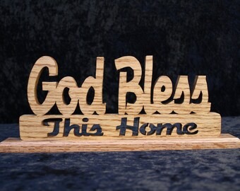 God Bless This House Plaque - made to order