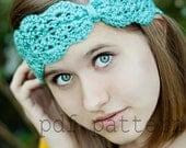 PDF, Turban Headband, Crochet Ear Warmer, Crochet Pattern, Turban Headband Pattern