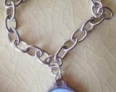 Custom Silver Link Bracelet