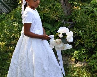 Flower girl dress First Communion Dress Custom made to order