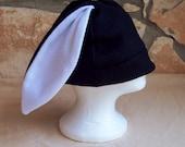 Fleece bunny rabbit hat ears CUSTOM