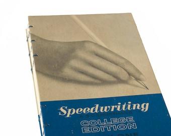 1966 SPEEDWRITING Vintage Notebook Journal